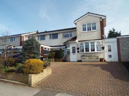 4 Bedrooms Semi Detached House for sale in Hundred Acre Road, Streetly, Sutton Coldfield, West Midlands