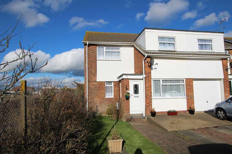 4 Bedrooms Semi Detached House for sale in Collier Close, Eastbourne, BN22 8SU
