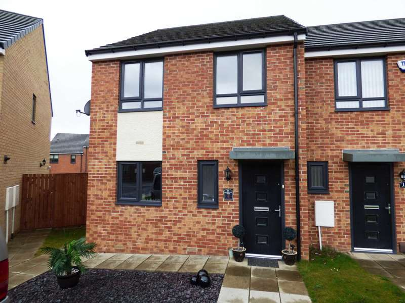 3 Bedrooms End Of Terrace House for sale in Rossett Way, Redcar