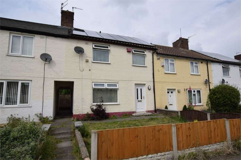 2 Bedrooms Terraced House for rent in Ganneys Meadow Road, Wirral