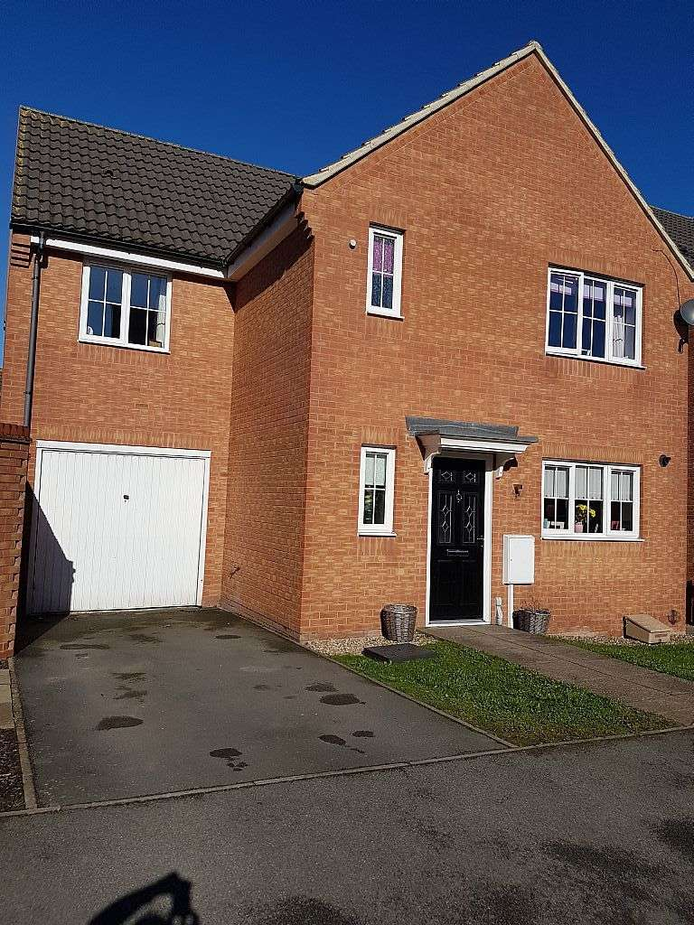 4 Bedrooms Detached House for sale in Jackdaw Road, Corby, Northamptonshire, NN18 8RY