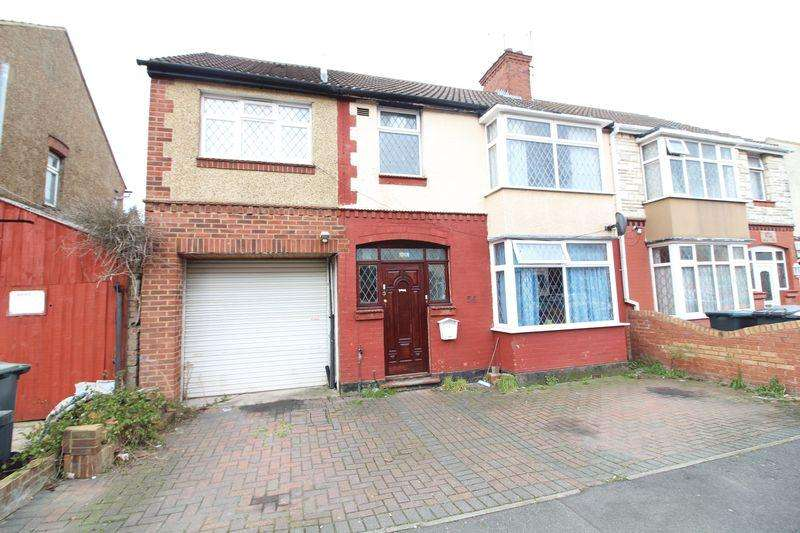 7 Bedrooms Semi Detached House for sale in Exceptionally Large SEVEN Bed on Sherwood Road, Luton