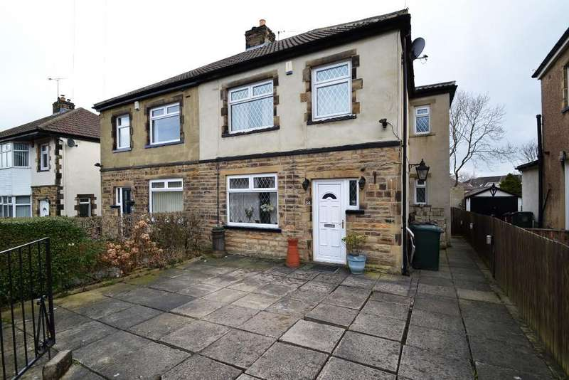 4 Bedrooms Semi Detached House for sale in Leafield Avenue, Eccleshill,