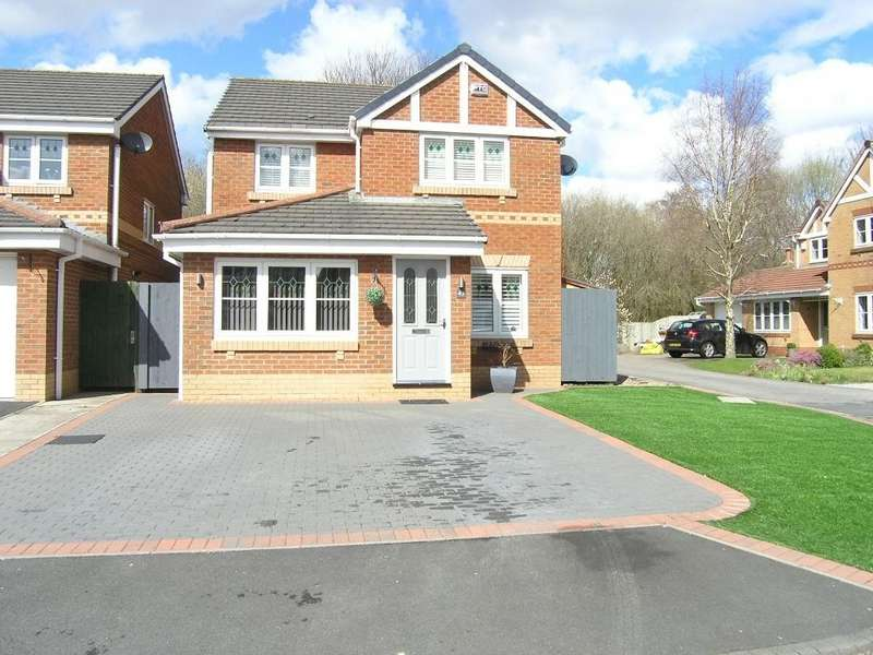 3 Bedrooms Detached House for sale in Colemere Close, Padgate, Warrington