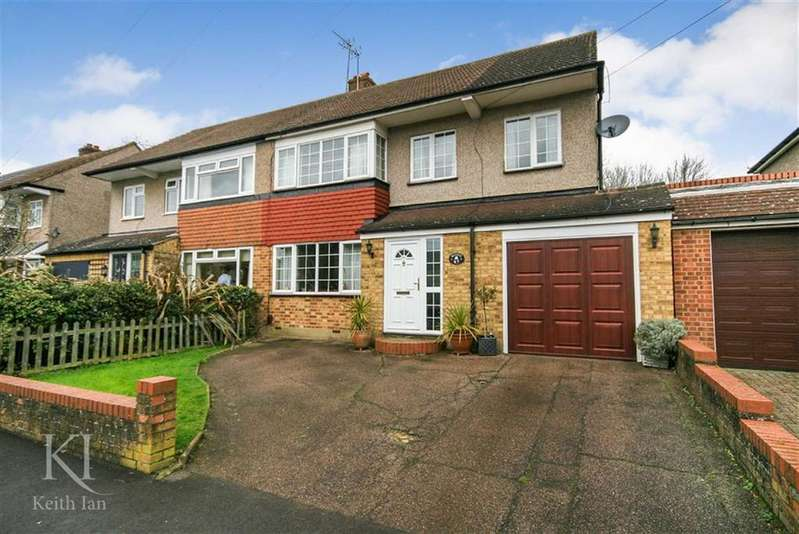 5 Bedrooms Semi Detached House for sale in Beehive Road, Goffs Oak