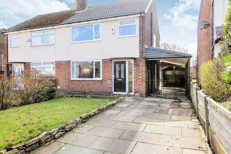3 Bedrooms Semi Detached House for sale in Ainsworth Road, Bury