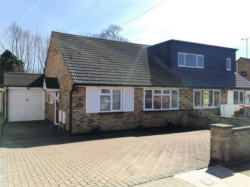2 Bedrooms Semi Detached Bungalow for sale in Brook View, Hitchin, SG4