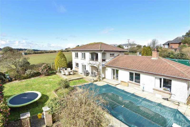 4 Bedrooms Detached House for sale in Newmills Lane, Truro, Truro, Cornwall, TR1