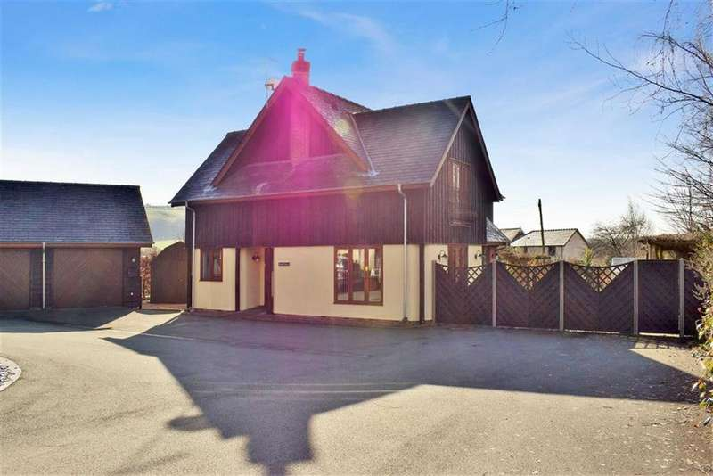 4 Bedrooms Detached House for sale in Nant Y Derw, Tregynon, Newtown, Powys, SY16