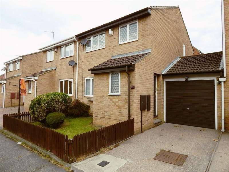 3 Bedrooms Semi Detached House for sale in Denewood Court, Willington Quay, Tyne And Wear, NE28
