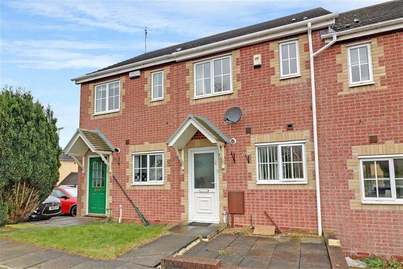 2 Bedrooms Terraced House for sale in Eastgate, Cannock, Staffordshire