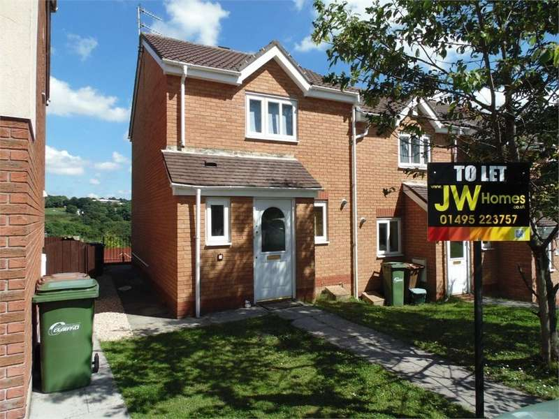 2 Bedrooms Semi Detached House for rent in Wern Fach, Hengoed, Caerphilly
