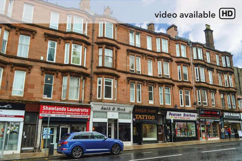 2 Bedrooms Flat for sale in Minard Road, Flat 1/3, Shawlands, Glasgow, G41 2HN