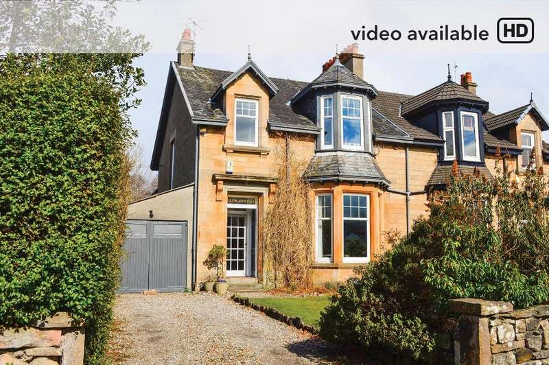 4 Bedrooms Semi Detached House for sale in East Princes Street, Helensburgh, Argyll Bute, G84 7DN