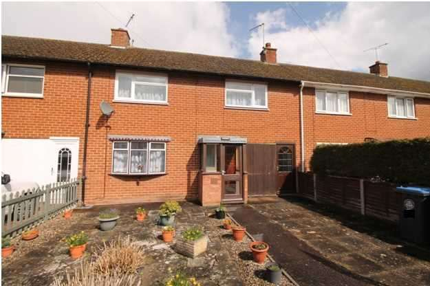 3 Bedrooms Terraced House for sale in Arrow Crescent, Alcester, Warwickshire, Alcester