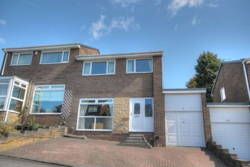 3 Bedrooms Semi Detached House for sale in Tewkesbury Road, West Denton Park, Newcastle Upon Tyne, NE15