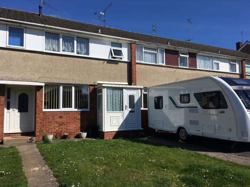 3 Bedrooms Terraced House for sale in Farm View, Taunton, TA2 7RD
