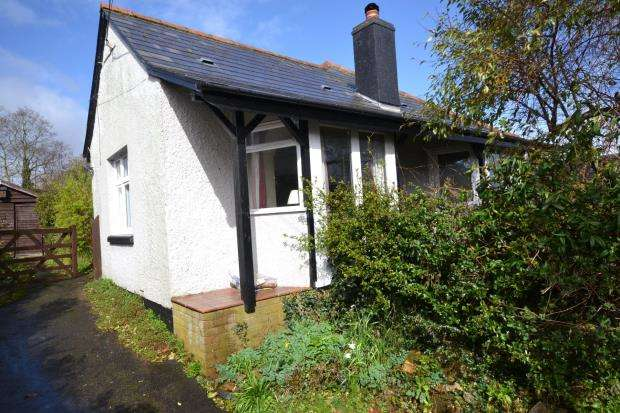 2 Bedrooms Detached Bungalow for sale in East Budleigh Road, Budleigh Salterton, Devon