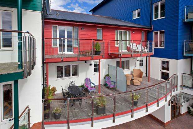 3 Bedrooms Terraced House for sale in Regatta Court, Shelly Road, Exmouth, Devon