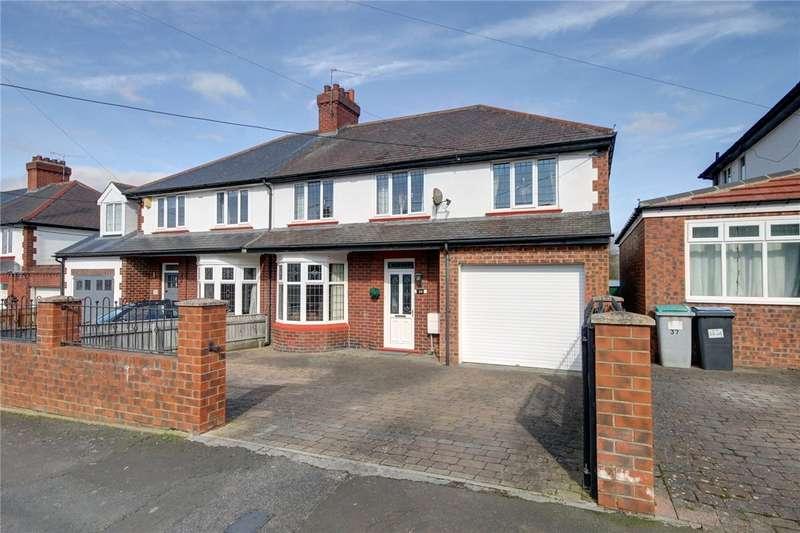 4 Bedrooms Semi Detached House for sale in Ashfield, Shotley Bridge, Consett, DH8
