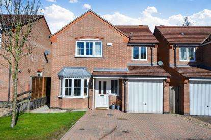 4 Bedrooms Detached House for sale in Leander Close, Sutton In Ashfield, Nottinghamshire, Notts