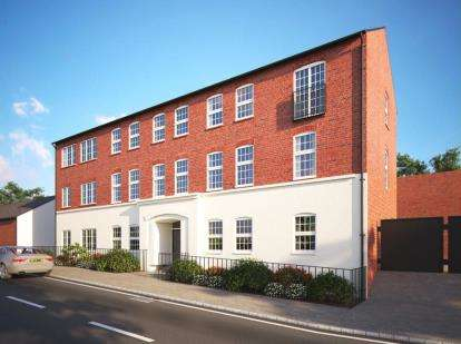 2 Bedrooms Flat for sale in Arthur Court, 2-4 Arthur Street, Wellingborough, Northamptonshire