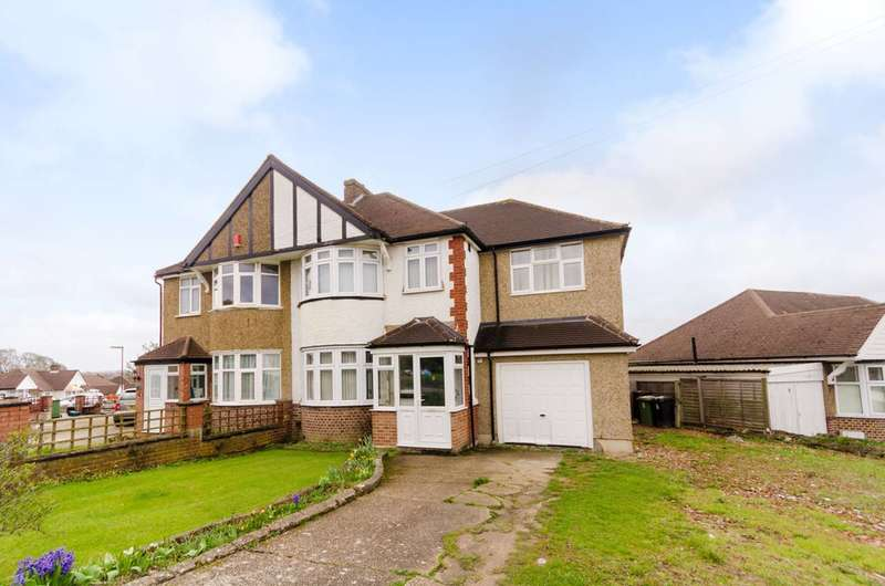 4 Bedrooms Semi Detached House for sale in Firswood Avenue, Stoneleigh, KT19
