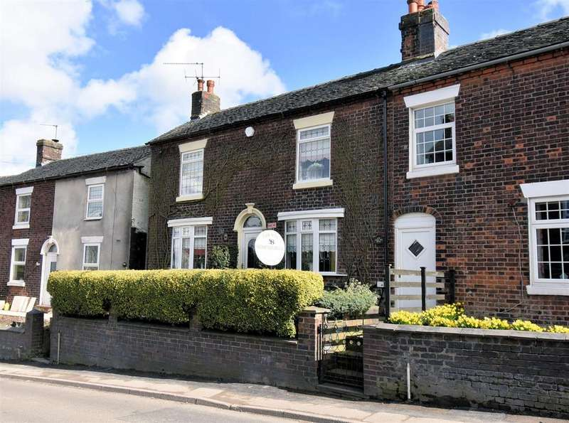 2 Bedrooms Cottage House for sale in Coalpit Hill, Talke