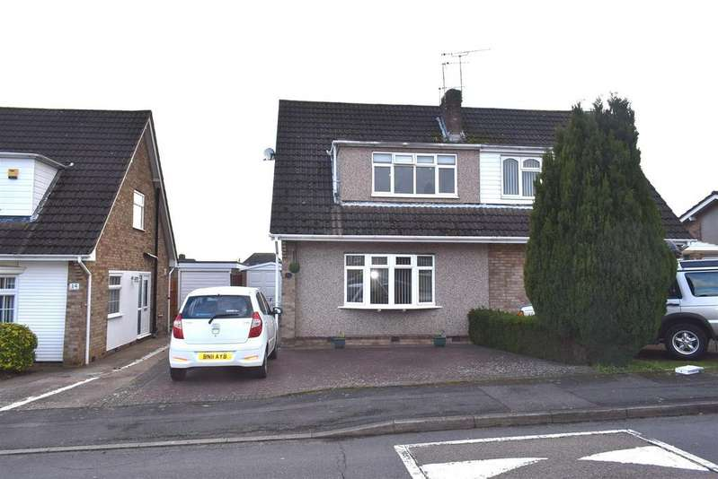 3 Bedrooms Semi Detached House for sale in Tamar Road, Bulkington, Bedworth