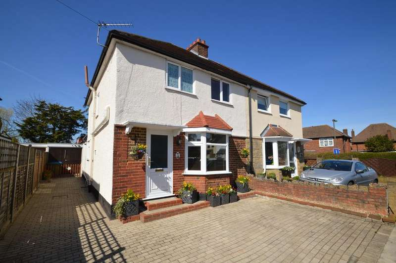 3 Bedrooms Semi Detached House for sale in Franklyn Road, WALTON ON THAMES KT12