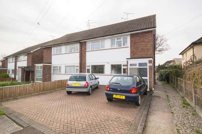 2 Bedrooms Ground Maisonette Flat for sale in Rayleigh Road, Hutton, Brentwood, Essex, CM13