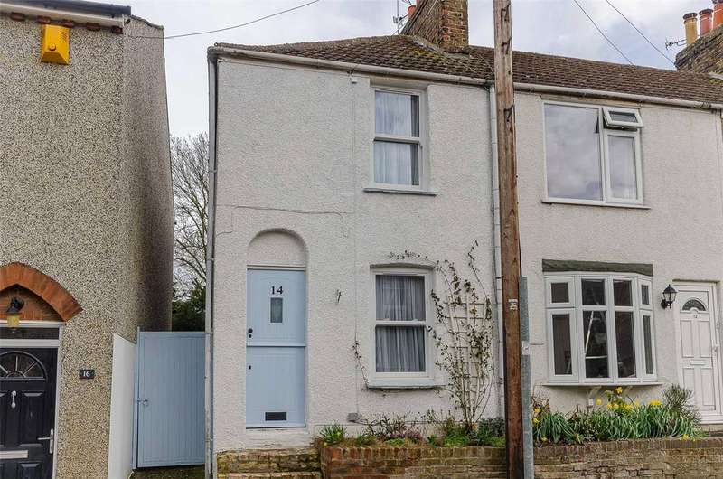 2 Bedrooms End Of Terrace House for sale in Church Lane,, Newington,, Sittingbourne,, Kent, ME9
