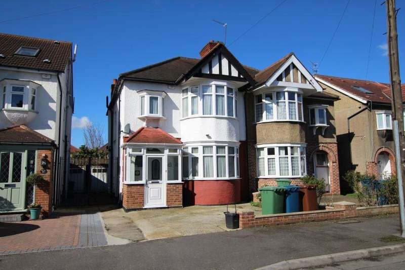 3 Bedrooms Semi Detached House for sale in Alveston Avenue, Kenton HA3 8TG