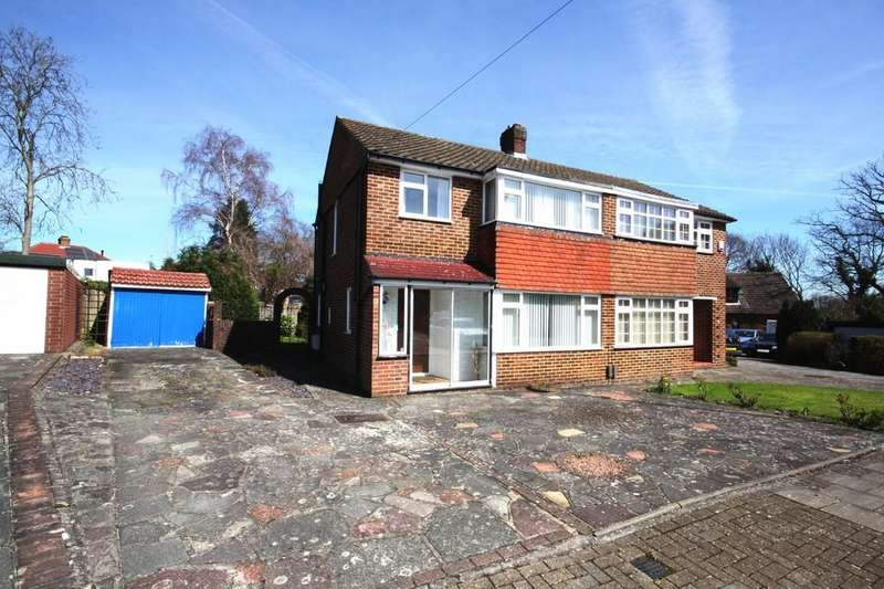 3 Bedrooms Semi Detached House for sale in Ember Close, Petts Wood