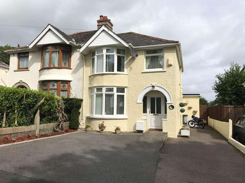 4 Bedrooms Semi Detached House for sale in Danvers Road, Torquay