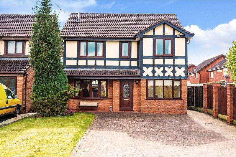 4 Bedrooms Detached House for sale in Boverton Close, Callands