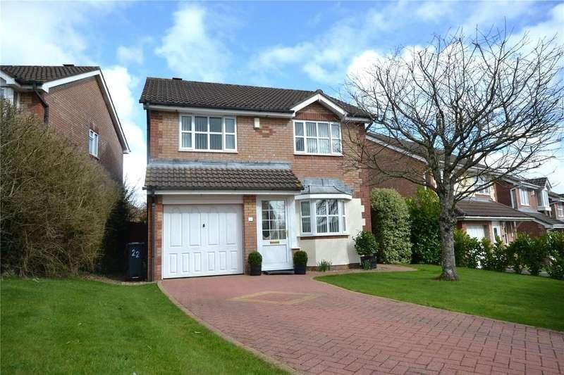 4 Bedrooms Detached House for sale in Clos Nant Mwlan, Pontprennau, Cardiff, CF23