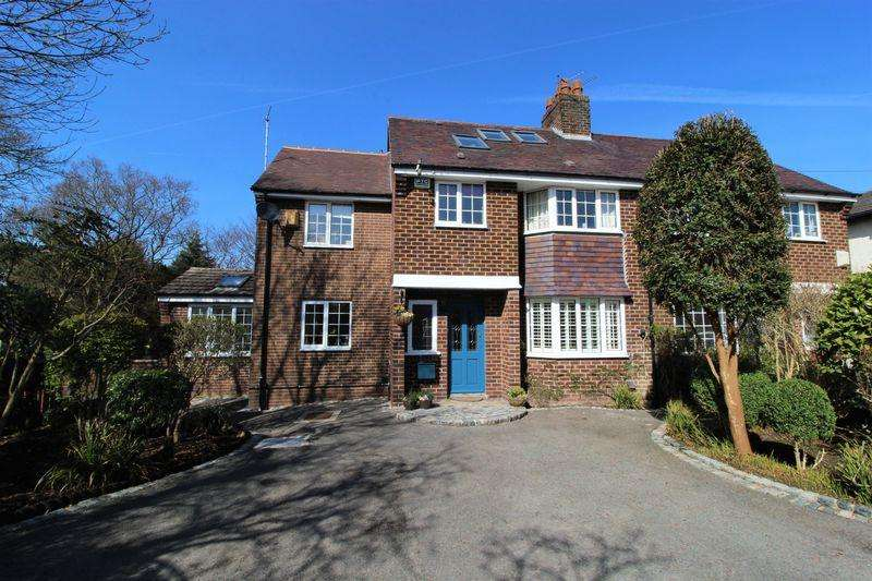 5 Bedrooms Semi Detached House for sale in Croftsway, Lower Heswall