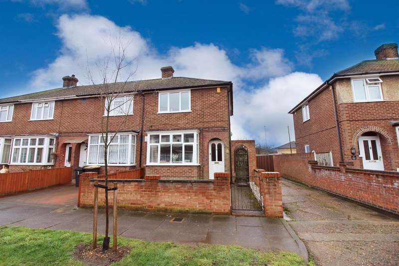 2 Bedrooms End Of Terrace House for sale in Winchester Road, Bedford, MK42