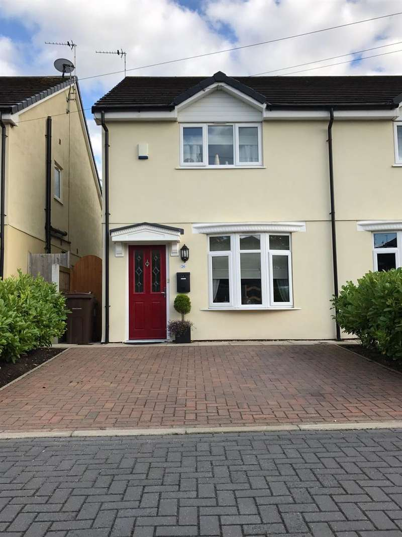 3 Bedrooms Semi Detached House for sale in Lovelady Grove, Formby Village, Merseyside