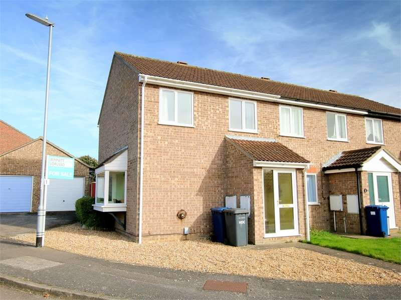 2 Bedrooms End Of Terrace House for sale in Eaton Socon, ST NEOTS