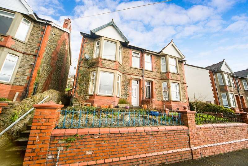3 Bedrooms Semi Detached House for sale in Tydfil Road, Bedwas, Caerphilly