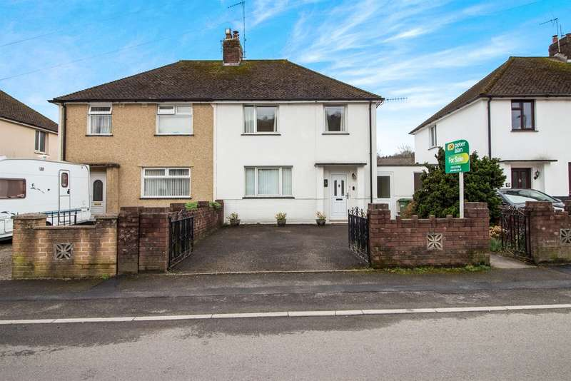 3 Bedrooms Semi Detached House for sale in Tanybryn, Risca, Newport