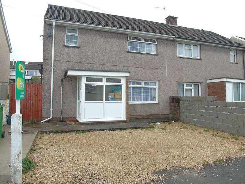 3 Bedrooms Semi Detached House for sale in Moorland Crescent, Beddau, Pontypridd