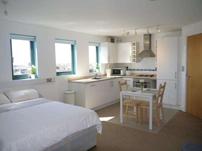 Studio Flat for sale in Ty John Penri, 11 St. Helens Road, Swansea, City And County of Swansea.
