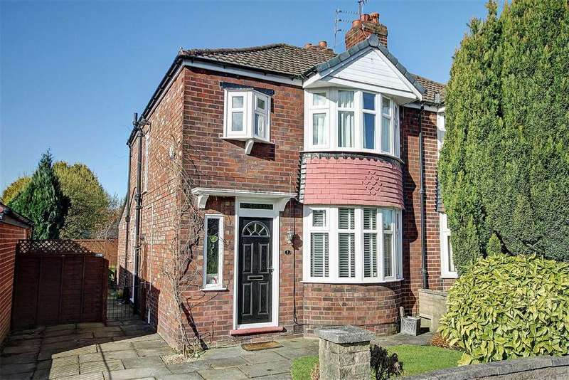 3 Bedrooms Semi Detached House for sale in Alexander Drive, Timperley, Cheshire