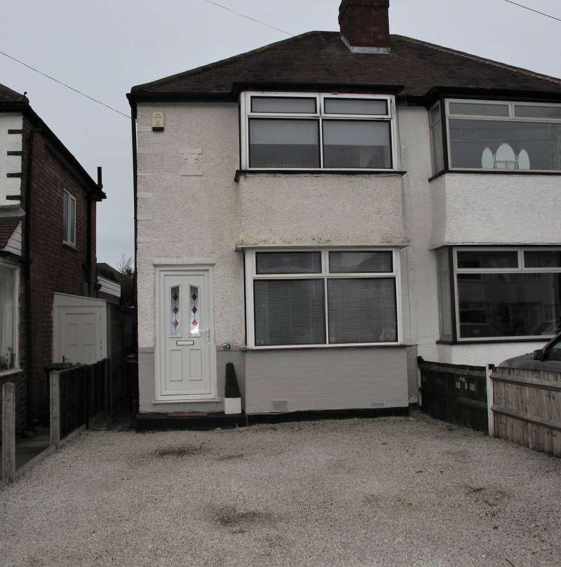 2 Bedrooms Semi Detached House for sale in Summerfield Road, Solihull