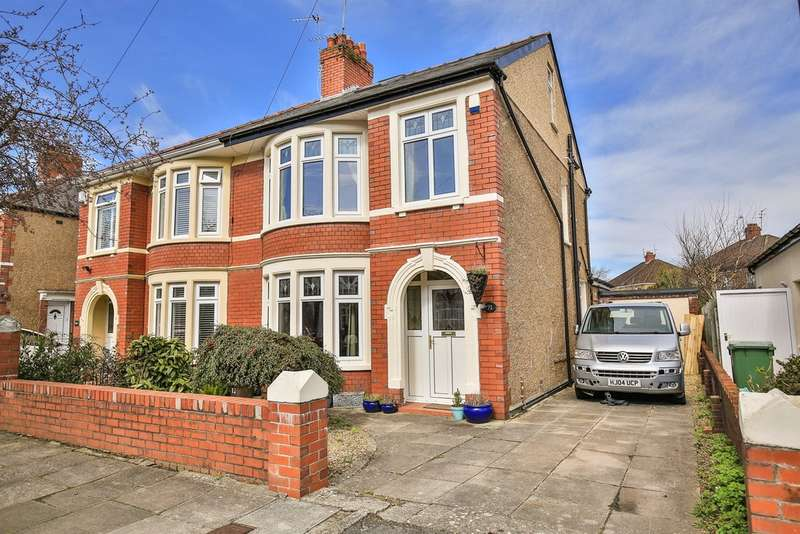 4 Bedrooms Semi Detached House for sale in St Ina Road, Heath, Cardiff
