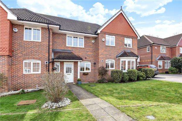2 Bedrooms Terraced House for sale in Wallace Grove, Three Mile Cross, Reading