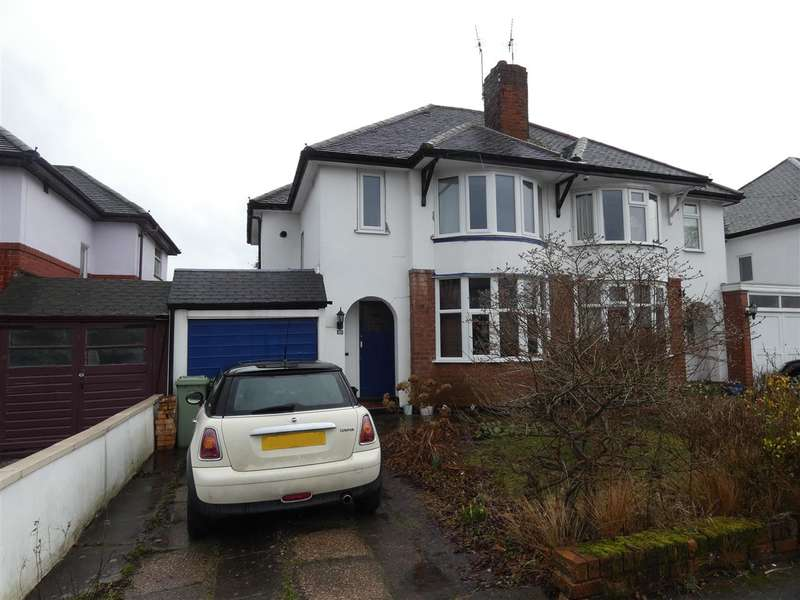 3 Bedrooms Semi Detached House for sale in Jacey Road, Shirley, Solihull